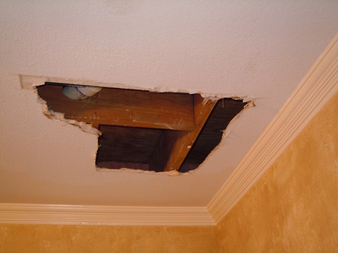 vancouver finished ceiling restoration services repair repairman drywall building