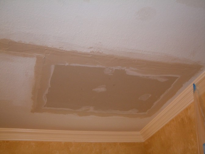 lakeside county ceiling how diego to repair damage water san